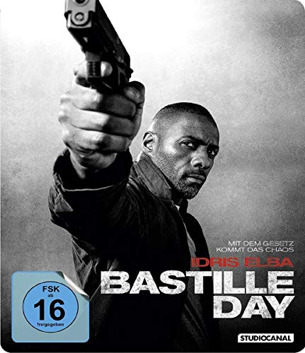 Bastille Day - Steelbook [Blu-ray]