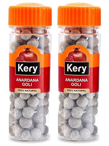 Kery Anardana Goli Mukhwas, 2 Bottles, 320g [Digestive Anardana Pachak Mouth Freshener]