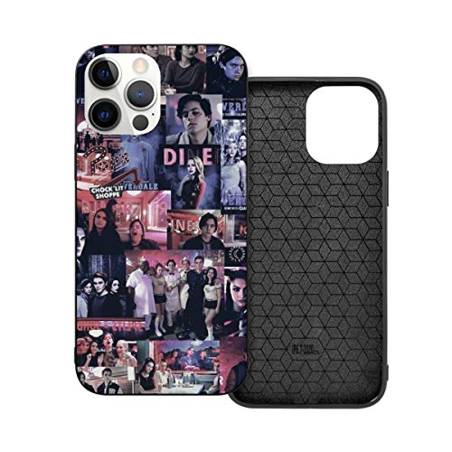 EAROBA iPhone 12 Case Riverdale Mobile Phone Case Stylish TPU Plastic Cover iPhone12 Pro Max-6.7