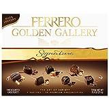 Ferrero Golden Gallery Dark, Signature Fine Assorted Chocolates, Valentine's Day Candy Gift Box, 24 Count, 8.4 Oz (240g)