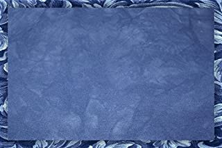 17 x 19 Blue Ocean Splendor Cross-Stitch Fabric Hand-Dyed 14 Count Aida Cloth