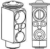 Mahle AVE 81 000P Válvula de expansión y Tubo de Orificio