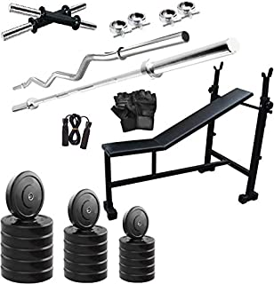 Starx 40 Kg Home Gym Combo 3 In1 Bench