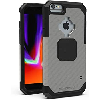 Rokform - Magnetic iPhone SE (2nd generation)/8/7/6 Case with Twist Lock Mount, Military Grade Rugged Mobile Phone Holder Series (Gunmetal)