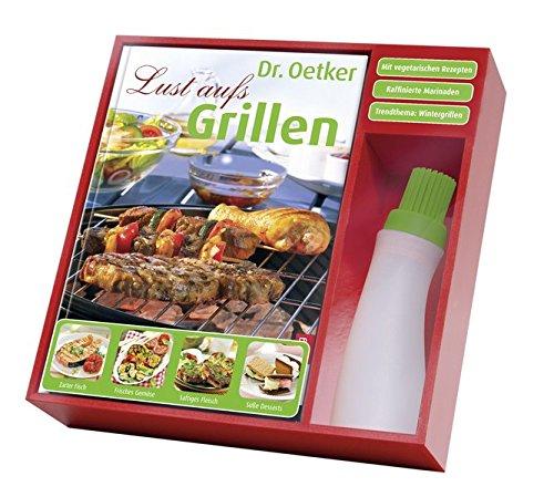 Grill-Set (Buch mit Marinierpinsel) (Buch Plus)