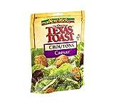 The Original Texas Toast Caesar Croutons 5 oz (Pack of 12)
