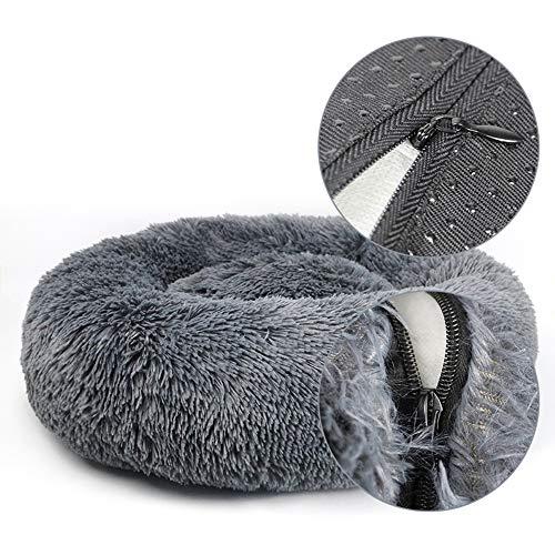 Afneembare hondenmand Mat pluizige loungebank voor kleine grote honden Superzachte kattenpluche kennels Product
