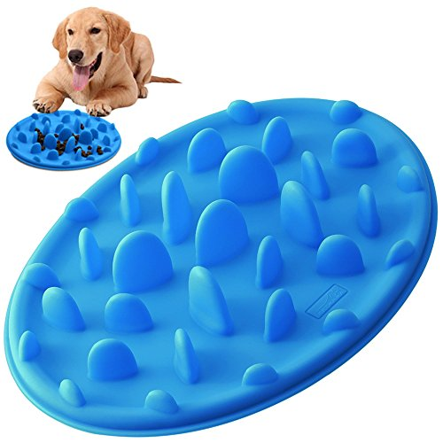 2. PETBABA Slow Bowl (Best Puzzle Food Bowl for Dogs)