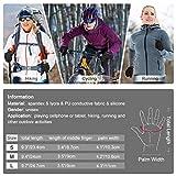 Zoom IMG-1 vbiger guanti sportivi donna uomo