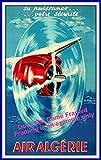 Air Algerien Poster Reproduktion/Format 50 x 70 cm Papier