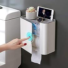 XYZMDJ Toiletpapier Plank Wandgemonteerde Tissue Box WC Papieren Houders Papier Handdoekhouders voor Badkamer Accessoires ...