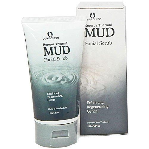New Zealand Rotorua Mud Facial Scrub by Pure Source by Beauty Spa