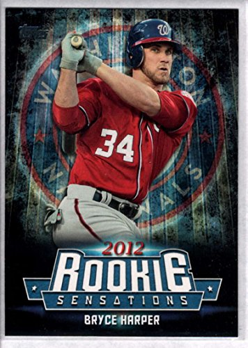 2015 Topps Update Rookie Sensations #RS-22 Bryce Harper Nationals Baseball Card NM-MT