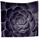 XXGI Wanddekoration Decke Tropical Desert Sunshine Kaktus Blume Valance Tapisserie Wandbehang Mandala Tapisserien Hippie Druck Tapisserie Picknick Strand Blatt Tischdecke -
