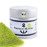 Premium Bio Matcha aus Japan, Ceremonial Grade, Pestizidfrei, Matcha-Pulver extrafein in der 30 g Do…