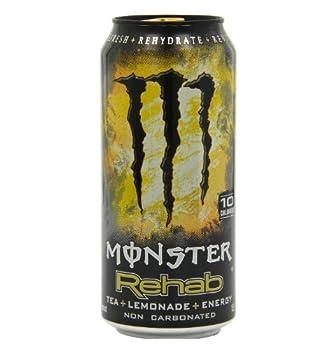 Monster Rehab - Tea + Lemonade - 16fl oz  Pack of 12