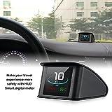 HUD Display, iKiKin OBD2 Car Head Up Display with TFT LCD Display Shows