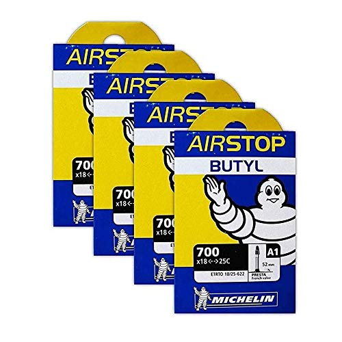 Michelin A1 Airstop 700x18-25c Road Bike Tube...