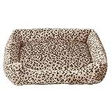 Nido de mascotas Cat Litter Dog House Lavable Teddy Bombie Bear Pet Supplies Four Seasons Colchón Transpirable WHLONG