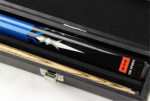 BCE Mark Selby SAPPHIRE 2pc Ash Pool Snooker Cue & BCE ATTACHE HARD CASE