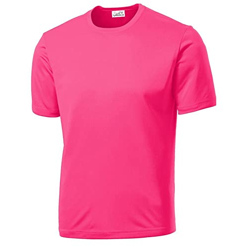 1fa14c02d95 Joe's USA - All Sport Neon Color High Visibility Athletic T-Shirts in Sizes  XS