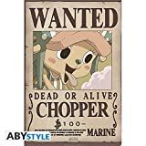 ABYstyle - ONE PIECE - Poster 'Wanted Chopper new' (91.5x61)