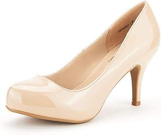 Tiffany Women's New Classic Elegant Versatile Low...