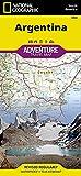 national geographic adventuremap argentina [lingua inglese]: travel maps international adventure map