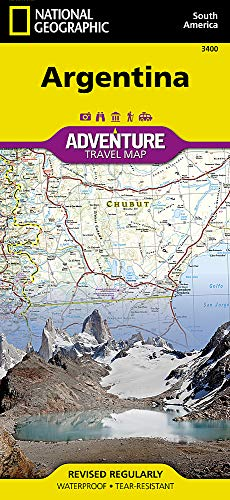Argentina: Travel Maps International Adventure Map [Idioma Inglés]: 3400