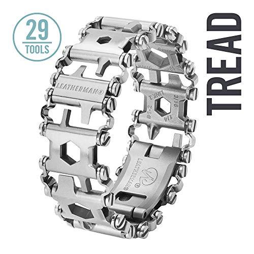 LEATHERMAN - Tread, Multi-Tool Armband, 29 Werkzeuge stets griffbereit am Handgelenk, flexibel einstellbar, Edelstahl