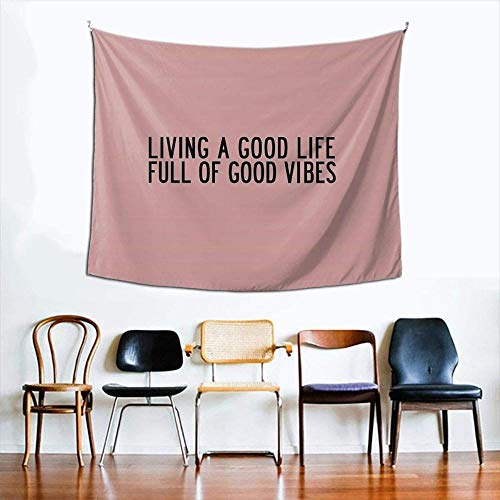 DUQQ Khalid American Teen Lyrics Tapestry Boutique Wall Hanging Tapestry Vintage Tapestry Wall Tapestry Micro Fiber Peach Home Decor 60x51inch-150x130cm