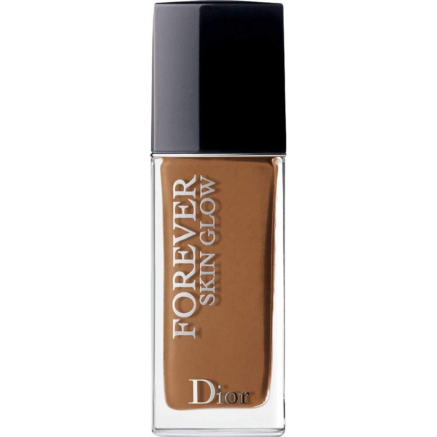 南極重荷温かい[Dior ] ディオール永遠に皮膚グロー皮膚思いやりの基礎Spf35 30ミリリットルの7N - ニュートラル(肌の輝き) - DIOR Forever Skin Glow Skin-Caring Foundation SPF35 30ml 7N - Neutral (Skin Glow) [並行輸入品]