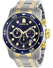 Invicta Pro Diver - SCUBA Orologio Uomo Quarzo, 48mm, Blu, 0077