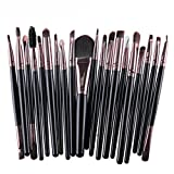 Btruely Makeup 20 Pcs Professionelle Kosmetik Pinsel Set Make-up Brush Set