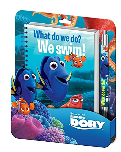 Kids Euroswan - Disney WD17209 Buscando a Dory - Blister Libreta Espiral + boligrafo Clamshell 3D