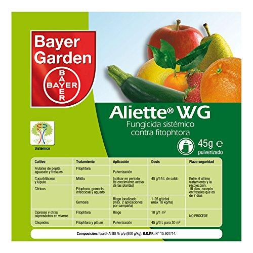 PROTECT GARDEN Aliete WG Fungicida sistémico, Verde, 45 Gramos