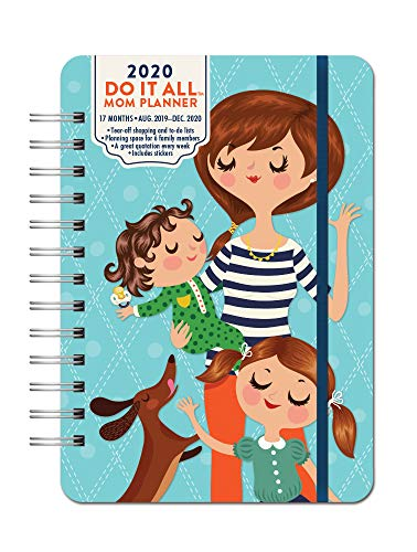Orange Circle Studio 2020 Do It All Planner, August 2019 - December 2020, Moms Do It All