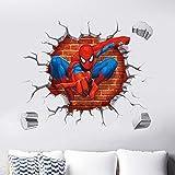Zoom IMG-2 kibi spiderman adesivo muro da