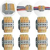 CTRICALVER 6 pcs SPL-5 Compact Connettore   Morsettiera a Barra di Pressione Bilaterale   ...