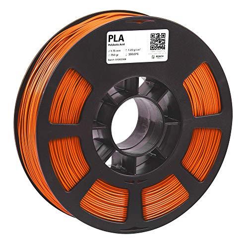 KODAK PLA Filament 1.75mm for 3D Printer, Orange PLA, Dimensional Accuracy +/- 0.03mm, 750g Spool (1.7lbs), 1.75 PLA Filament Used as 3D Filament Consumables to Refill Most FDM Printers