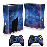 MightySkins Skin Compatible with X-Box 360 Xbox 360 S Console - Nebula | Protective, Durable, and Unique Vinyl Decal wrap Cover | Easy to Apply, Remove, and Change Styles | Made in The USA