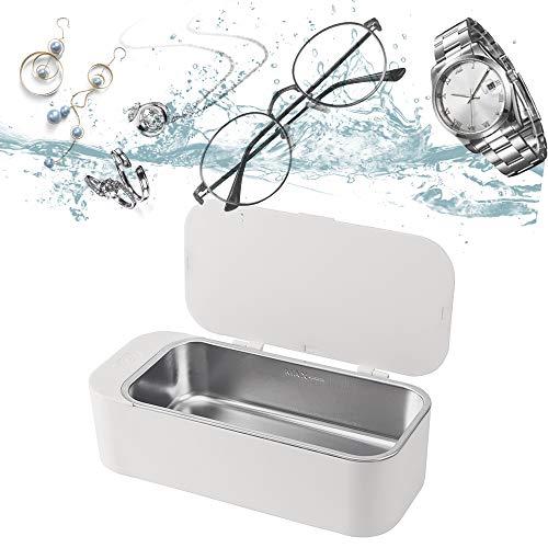 超音波洗浄機 眼鏡洗浄機 小型家用超音波洗浄器 超音波クリーナー 450 mlの容 42,000Hz 強力振動 可能洗浄メガネ 時計 貴金属 アクセサリー シェーバー IGOKOTI