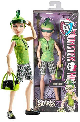 Model 4pcs/lot, Original Monster High Dolls/scaris City of Frights,Ghoulia Yelps,Draculaura,Abbey Bominable,Deuce Gorgon/Gift for Girl