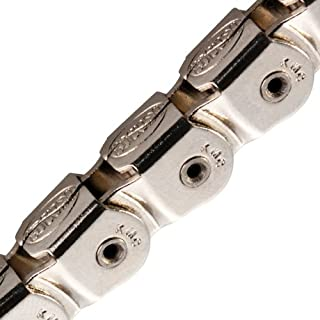 KMC Kool Knight Bicycle Chain Bicycle Chain (Silver, 1/2 x 1/8 - Inch)