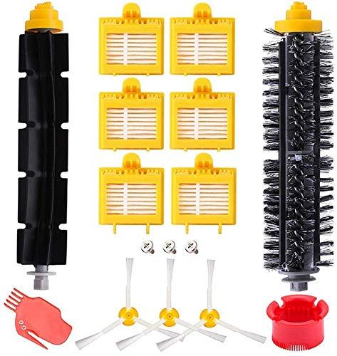 Home Spare Parts – Accessoires compatibles pour iRobot Roomba 700, kit de 13 pièces de rechange accessoires iRobot, brosses, filtres Hepa, accessoires iRobot 700 | Pièces détachées maison |