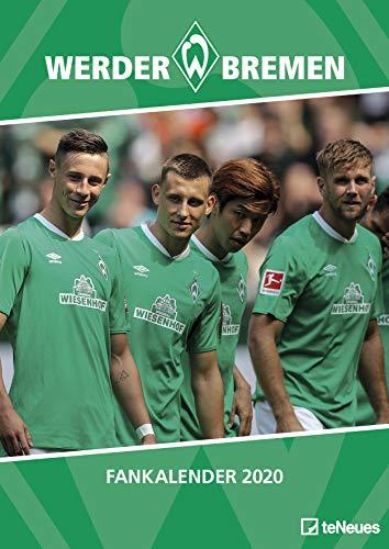 Werder Bremen 2020 - 29,7x42cm - Fußballkalender - Wandkalender