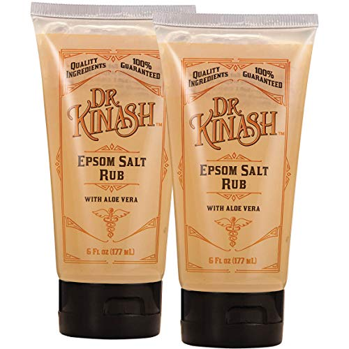 Dr. KinashTM Epsom Salt Rub 6 oz. Set of 2