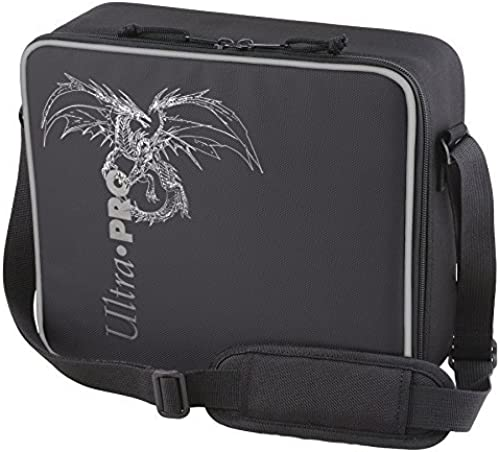 Ultra Pro Deluxe Gaming Case Black Dragon with Silver Trim by Ultra Pro