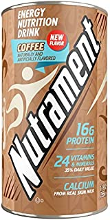 Nutrament Nutritional Drink, Coffee, 12 Ounce (Pack of 12)