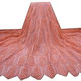 African Fabric Nigerian Französisch Cord-Spitze-Gewebe mit